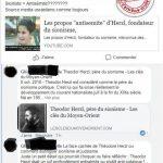 Herzl, antisémitisme