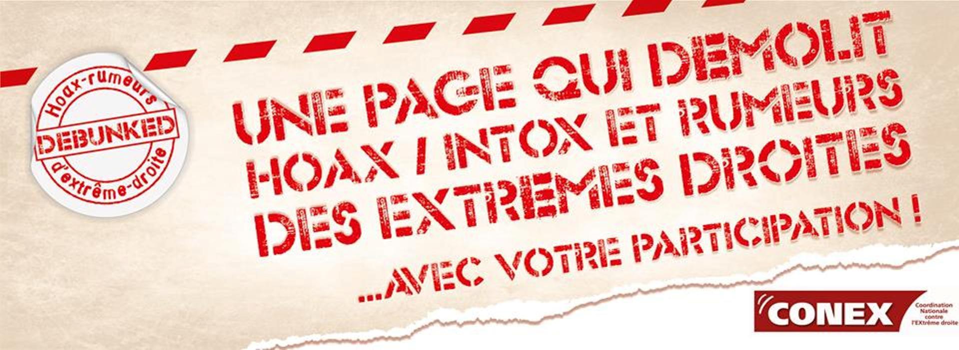 Debunkers de hoax/rumeurs d'extrême droite