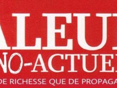 Faux logo: Valeurs actuelles