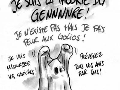 Humour fantôme théorie genre