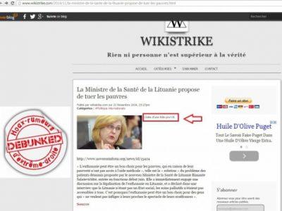 Lituanie wikistrike