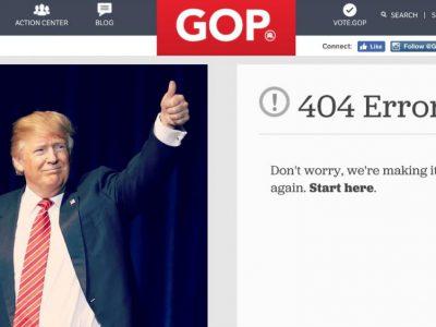 Trump, humour