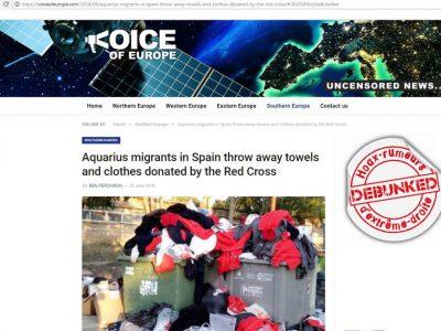 Voice of europe Migrants Aquarius