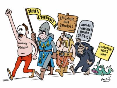 humour France aux gaulois