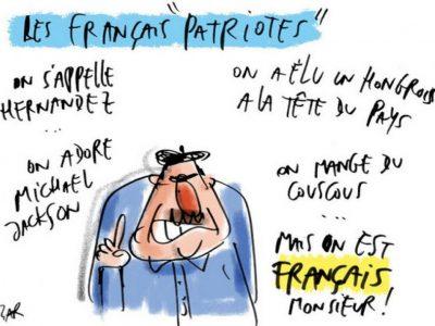 Humour sarkozy on est français