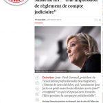 """Affaires FN: soutien de """"Valeurs actuelles"""""""