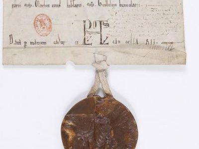 Edit du roi de France: Louis VII,banissant du royaume les juifs relaps