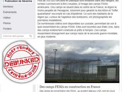 Camps FEMA France