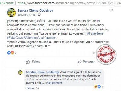 Réponse Sandra Chenu Godefroy