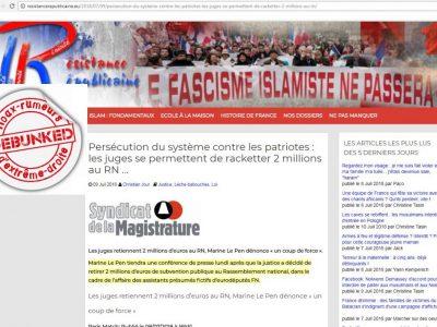 FN: le soutien des islamophobes