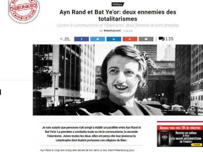 causeur: Ideologie de bat ye'or et d'Ayn Rand
