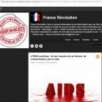 Fausse affaire VIH Préservatif, france révolution