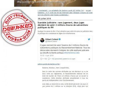 """Affaires du FN: le soutien des intégristes, le """"salon beige"""""""