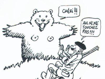 Rochedy: l''homme qui a vu l'ours