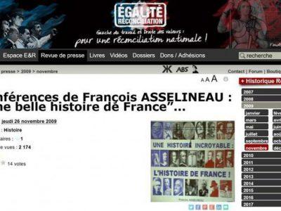 """Asselineau chez soral: """"une belle histoire de France"""""""