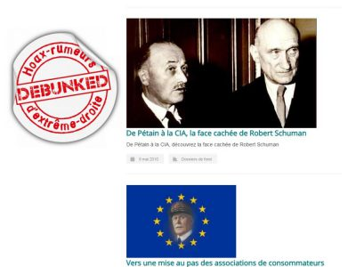 UPR: De Pétain à Schuman (1)