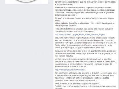 Hallstein militant UPR