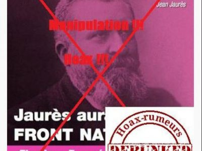 Récupération de Jaurès par l'extrême droite