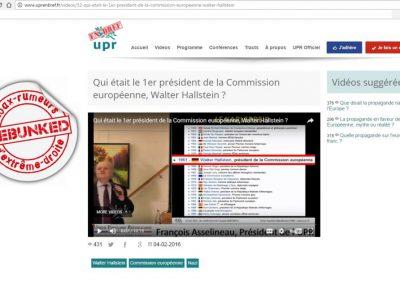 UPR vidéo Hallstein(1)