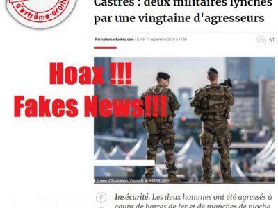 Valeurs Actuelles: militaires Castres