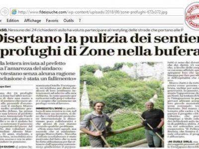 """Brescia nettoyage chemin """"Bresciaoggi"""""""