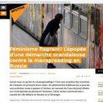 "sputnik: ""manspreading"" en Russie"