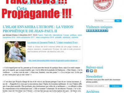 La prophétie de Jean Paul II