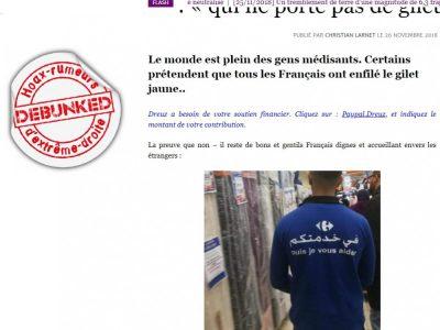"""""""Carrefour Arabe""""-Dreuz trollé"""