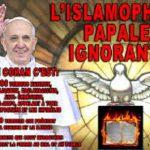 Le pape collabo-islamophile