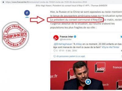 Alep Est France Inter