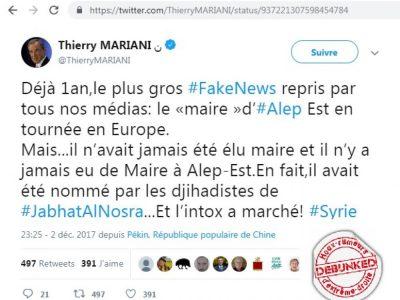 Mariani twitter fake news 2017