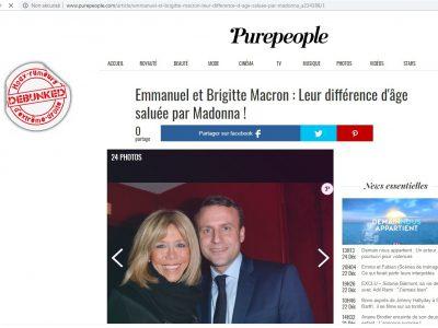 Pure People Brigitte et Emmanuel Macron