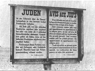 Antisémitisme: Avis aux juifs