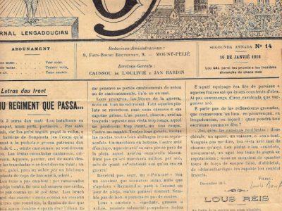 Journal de guerre d'un Occitan