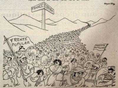 L'invasion de 1937- Illustration de Gringoire
