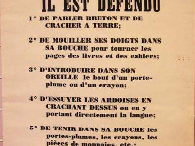 Règlement d'école Bretonne