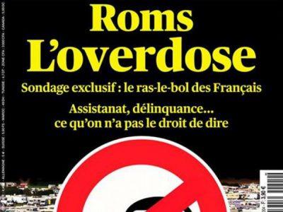 """Valeurs Actuelles """"Roms l'overdose"""""""