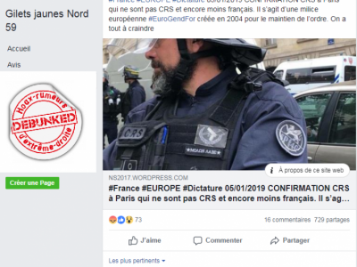 Eurogendfor: une photo qui date