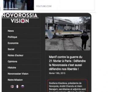 l'etat indépenadant de Novorossia n'existe pas