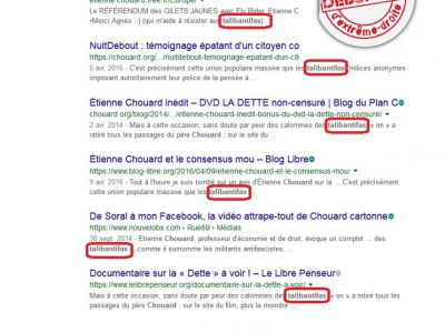 """Les """"talibantifas"""" d'E. Chouard"""