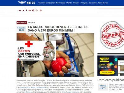 NRT 24 sur la Croix rouge