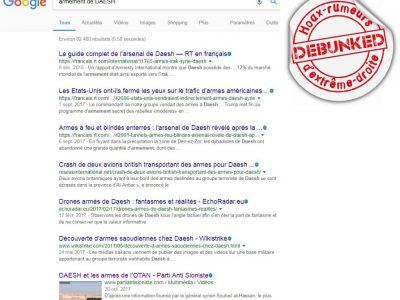 Recherche Google : Armement de DAESH