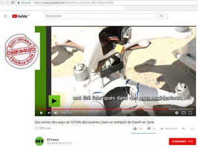 Beaucoup de désinformation là encore, ce sont des drones que l'on trouve sur internet, pour 250€...