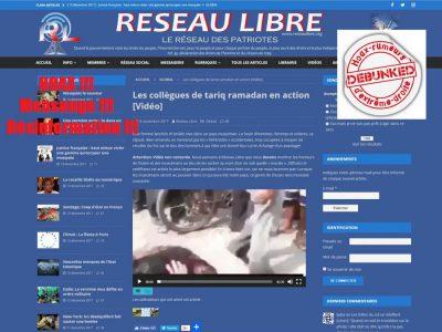 Réseau libre : hoax, mensonges et désinformation