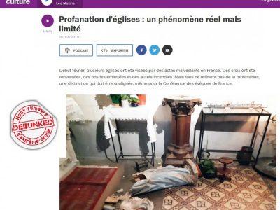 Réactions de la CEF sur France Culture