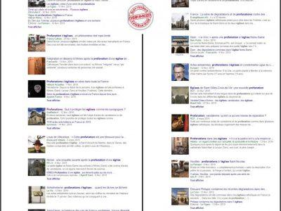 Revue de presse google