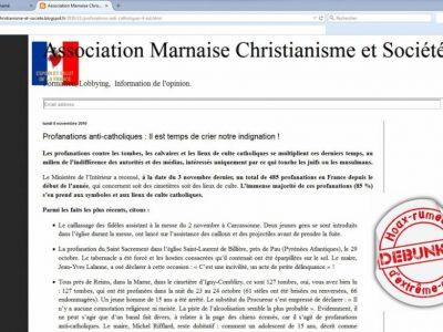 """""""Association marnaise christianisme et société"""", un faux nez de """"civitas"""""""