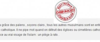 Les musulmans iront en enfer!