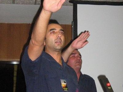 Manuel Andrino leader de la Phalange