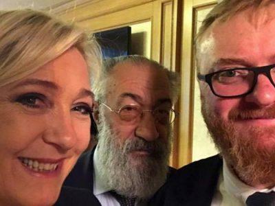 Marine le Pen et Vitali Monolov